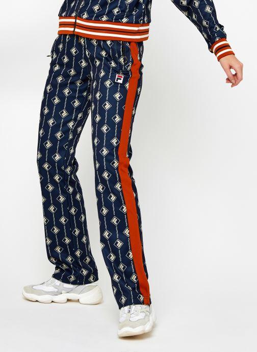 Vêtements FILA Hamo AOP Track Pants Bleu vue détail/paire