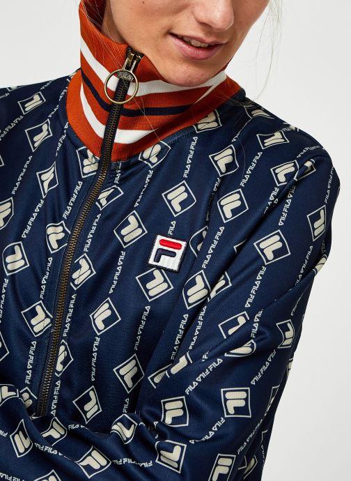 Vêtements FILA Hamo AOP Track Jacket Bleu vue face