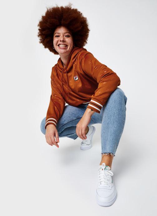 Vêtements FILA Helen Hoody Orange vue bas / vue portée sac