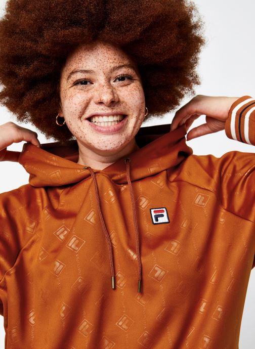 Vêtements FILA Helen Hoody Orange vue face