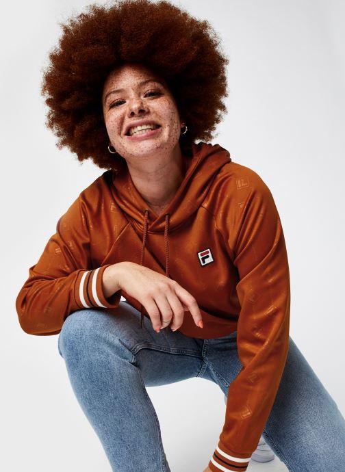 Vêtements FILA Helen Hoody Orange vue détail/paire