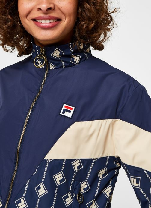 Vêtements FILA Harini Woven Jacket Bleu vue face