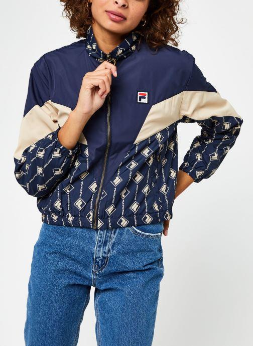 Vêtements FILA Harini Woven Jacket Bleu vue droite