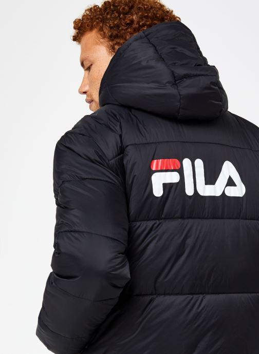 Vêtements FILA Scooter Puffer Jacket Noir vue face