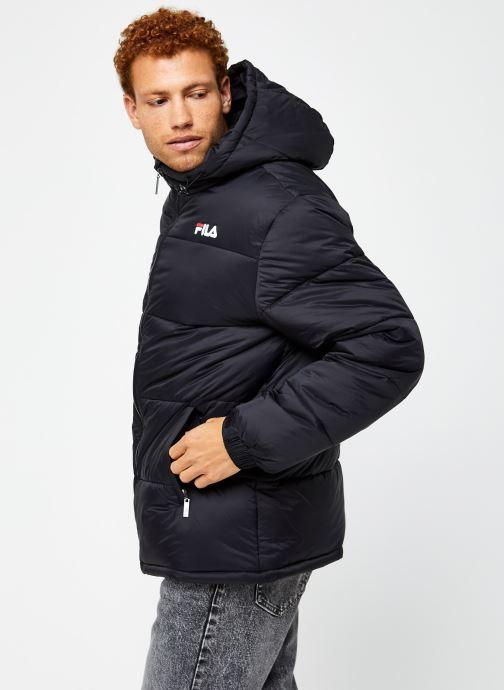 Vêtements FILA Scooter Puffer Jacket Noir vue droite