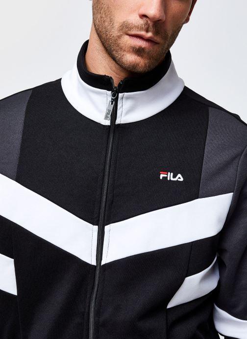 Vêtements FILA Batson Track Jacket Noir vue face