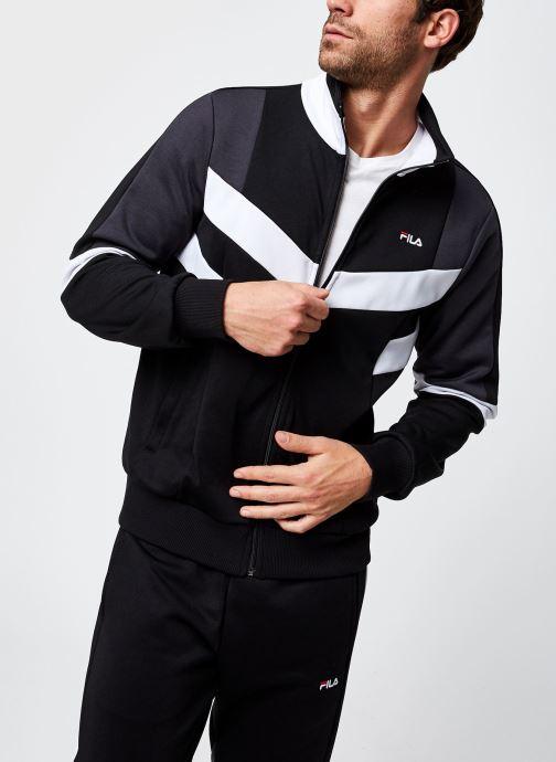Vêtements FILA Batson Track Jacket Noir vue droite