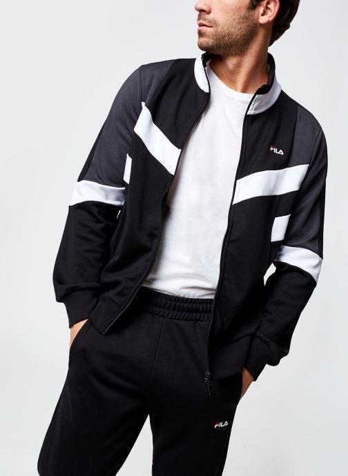 Vêtements FILA Batson Track Jacket Noir vue détail/paire