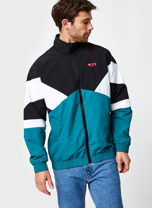 Vêtements FILA Balint Woven Jacket Noir vue droite