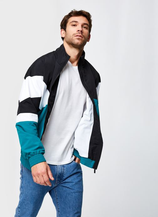 Vêtements FILA Balint Woven Jacket Noir vue détail/paire