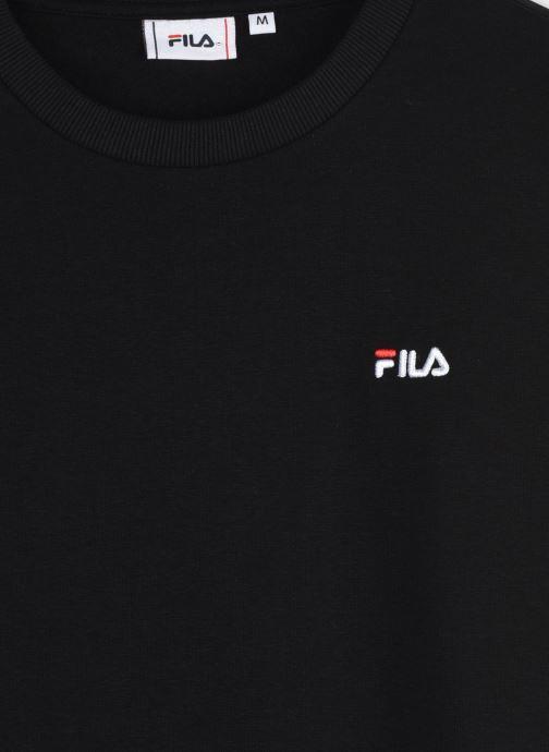 Vêtements FILA Efim Crew Sweat Noir vue face