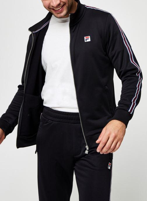 Vêtements FILA Salih Track Jacket Noir vue détail/paire