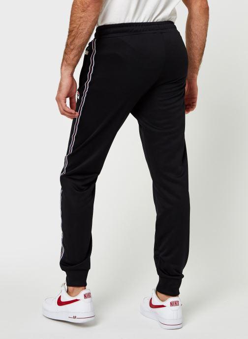 Vêtements FILA Salih Track Pant Noir vue portées chaussures