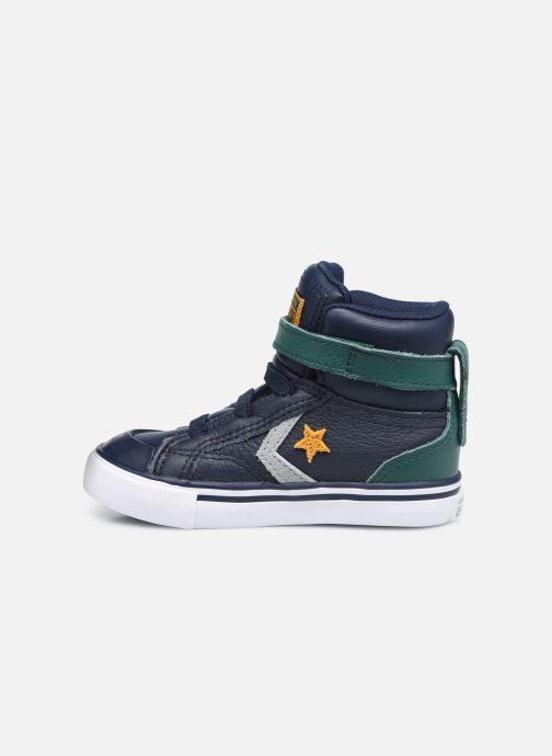 Sneaker Converse Pro Blaze Strap Leather Twist Hi blau ansicht von vorne