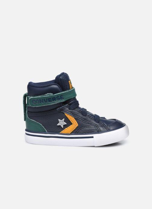 Sneakers Converse Pro Blaze Strap Leather Twist Hi Azzurro immagine posteriore