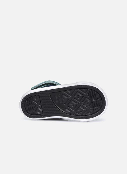 Sneakers Converse Pro Blaze Strap Leather Twist Hi Azzurro immagine dall'alto