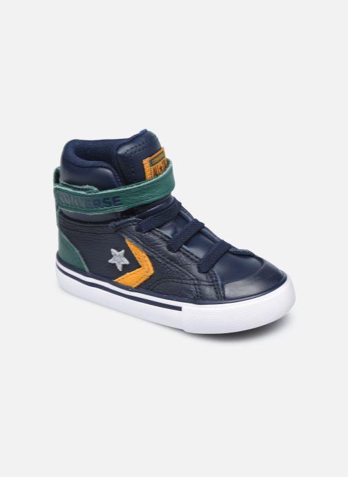 Sneakers Converse Pro Blaze Strap Leather Twist Hi Azzurro vedi dettaglio/paio