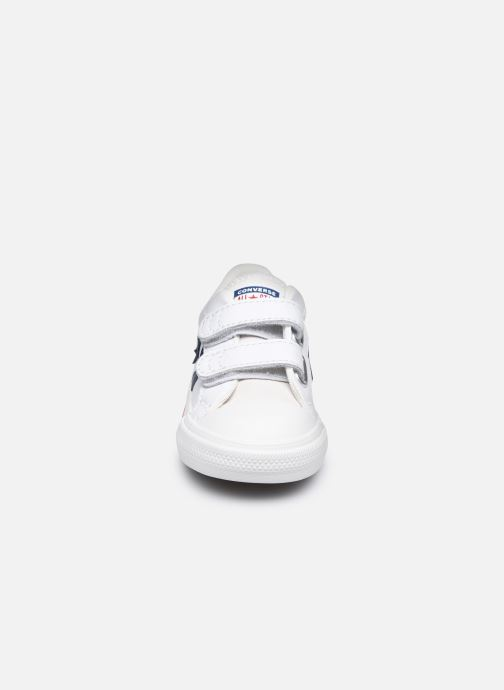 Sneaker Converse Star Player EV 2V Hack to School Ox weiß schuhe getragen