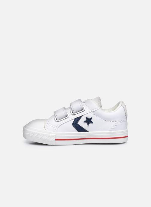 Sneaker Converse Star Player EV 2V Hack to School Ox weiß ansicht von vorne