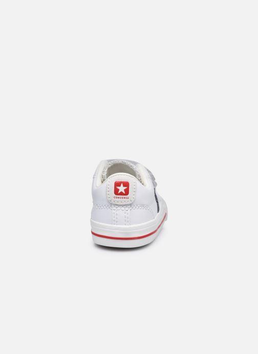 Sneaker Converse Star Player EV 2V Hack to School Ox weiß ansicht von rechts