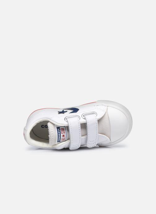 Sneaker Converse Star Player EV 2V Hack to School Ox weiß ansicht von links