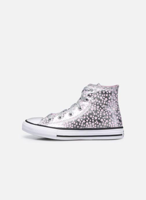 Sneaker Converse Chuck Taylor All Star She's a Star Hi silber ansicht von vorne