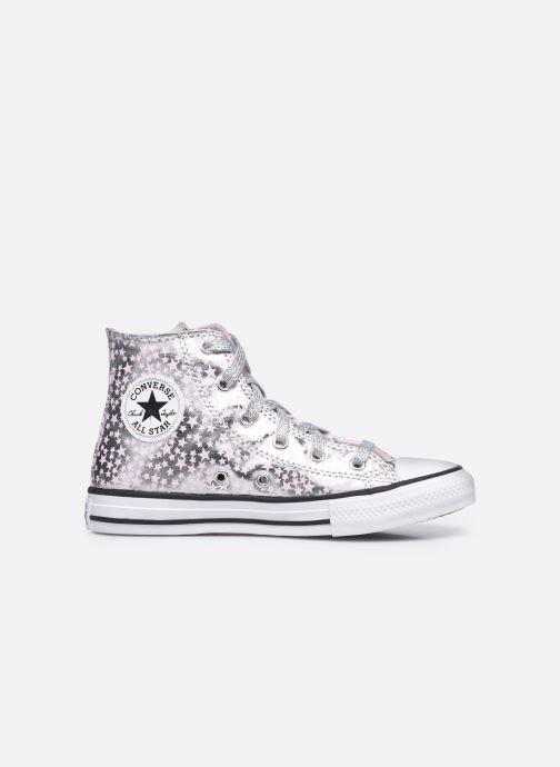 Sneaker Converse Chuck Taylor All Star She's a Star Hi silber ansicht von hinten