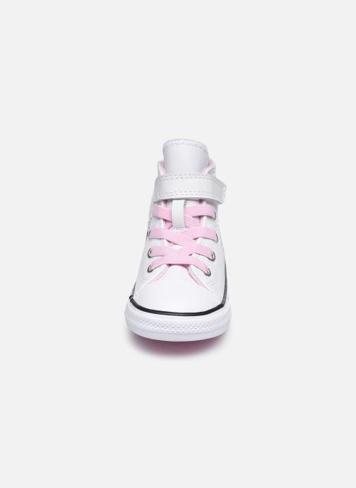 Sneaker Converse Chuck Taylor All Star 1V Notes from BFF Hi weiß schuhe getragen