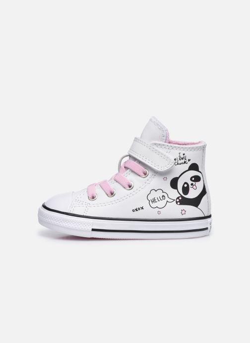 Sneaker Converse Chuck Taylor All Star 1V Notes from BFF Hi weiß ansicht von vorne