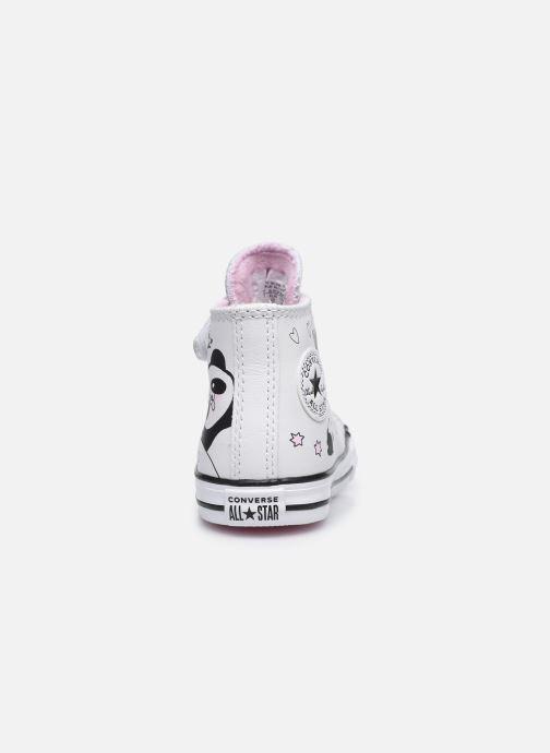 Sneaker Converse Chuck Taylor All Star 1V Notes from BFF Hi weiß ansicht von rechts