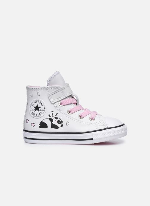 Sneaker Converse Chuck Taylor All Star 1V Notes from BFF Hi weiß ansicht von hinten