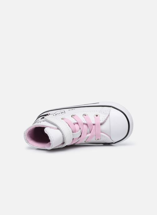 Sneaker Converse Chuck Taylor All Star 1V Notes from BFF Hi weiß ansicht von links