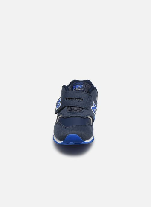 Baskets New Balance KV393 Bleu vue portées chaussures