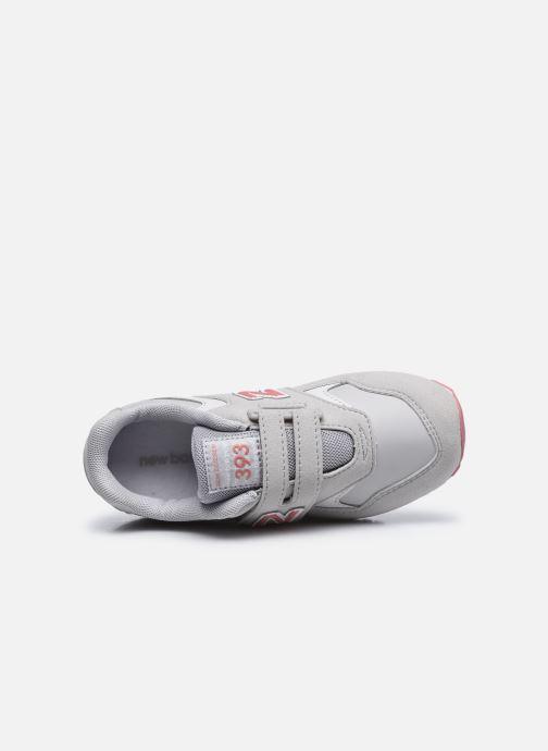 Sneaker New Balance KV393 grau ansicht von links