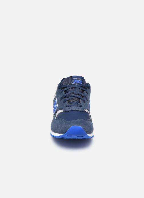 Baskets New Balance YC393 Bleu vue portées chaussures