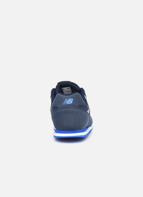 Baskets New Balance YC393 Bleu vue droite