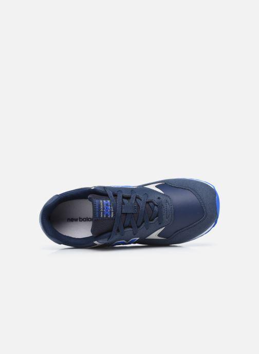 Baskets New Balance YC393 Bleu vue gauche