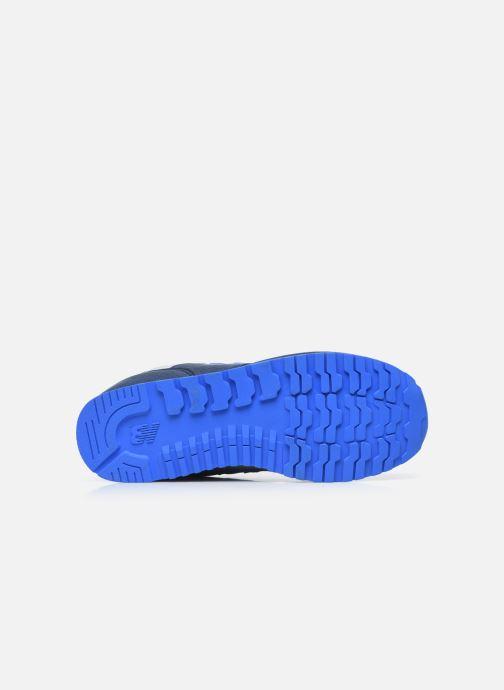 Baskets New Balance YC393 Bleu vue haut
