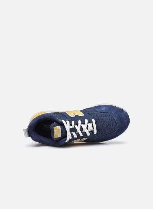 Sneakers New Balance YS009 Azzurro immagine sinistra