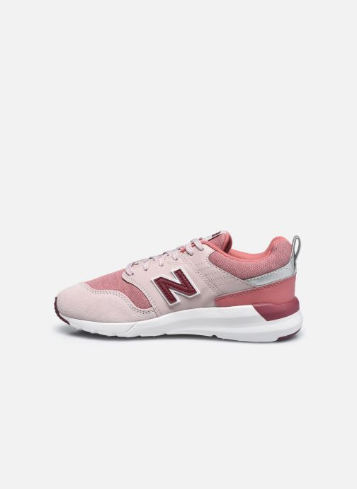 Sneakers New Balance YS009 Rosa immagine frontale