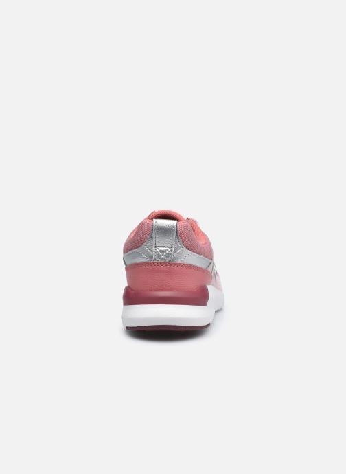Sneaker New Balance YS009 rosa ansicht von rechts