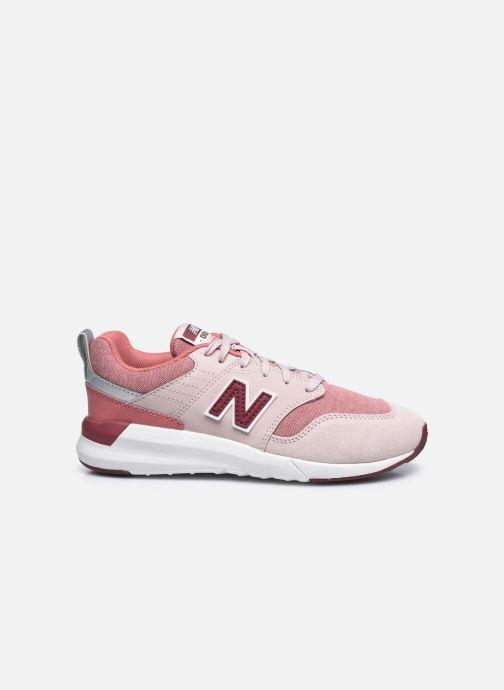 Sneaker New Balance YS009 rosa ansicht von hinten