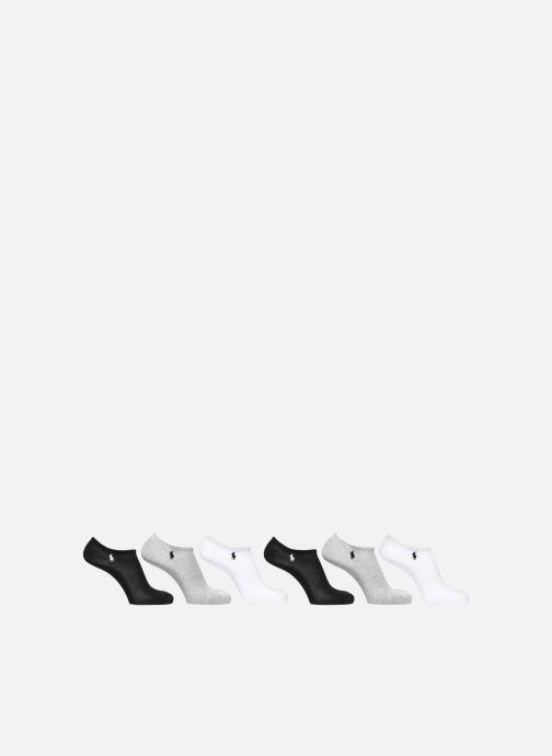 Chaussettes et collants Polo Ralph Lauren CUT SOCKS 6 PACK Gris vue portées chaussures