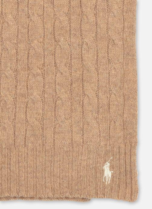 Sjaal Polo Ralph Lauren WOOL CASHME-OBLONG SCARF Bruin model