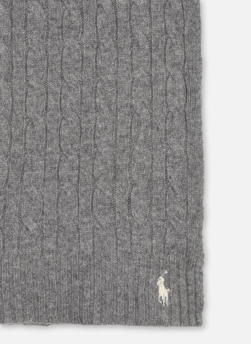 Sjaal Polo Ralph Lauren WOOL CASHME-OBLONG SCARF Grijs model