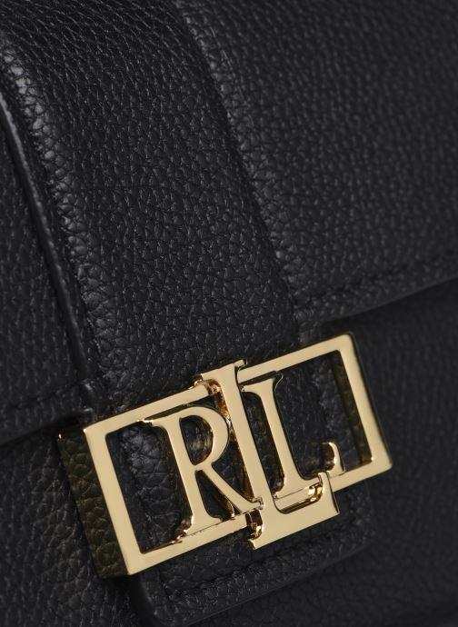 Sacs à main Lauren Ralph Lauren DEBBY II-DRAWSTRING-MINI Noir vue gauche