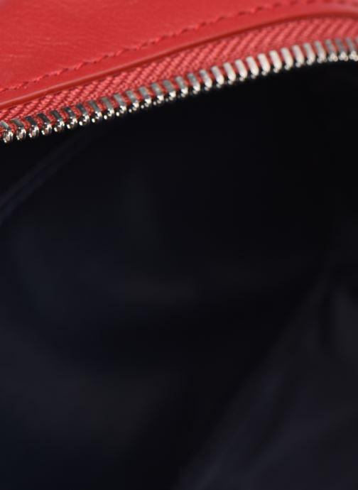 Handtaschen Lacoste Chantaco Square Crossover Bag weinrot ansicht von hinten