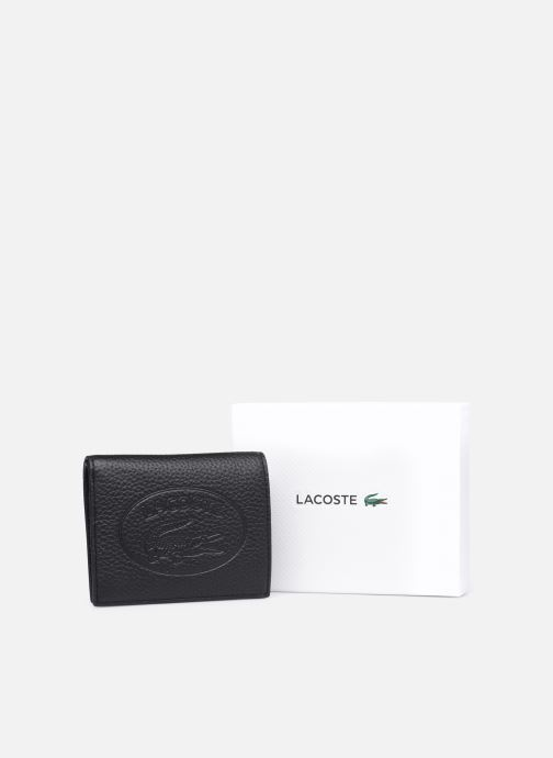Punge og etuier Lacoste Croco Crew Double Purse With Coin Sort se forneden