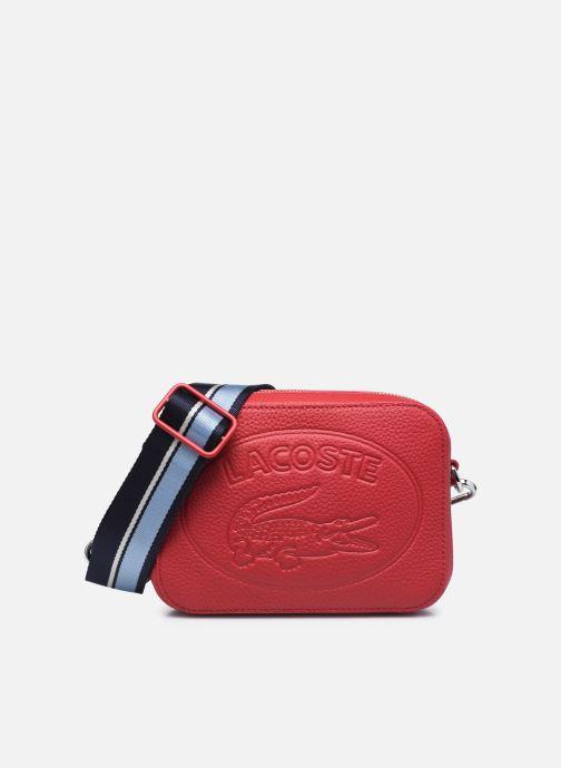 Sacs à main Lacoste Croco Crew Seasonal Crossover Bag Rouge vue détail/paire