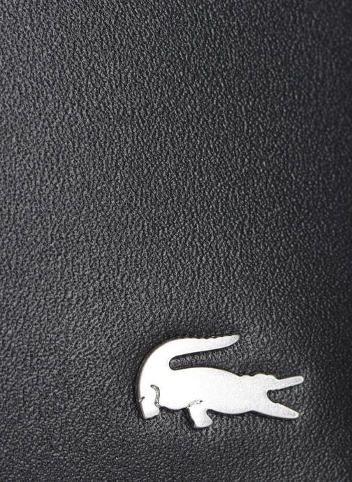 Marroquinería pequeña Lacoste Fg M Billfold Coin Negro vistra trasera